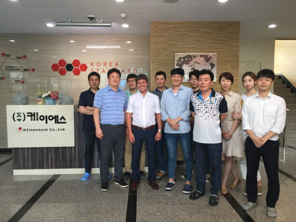 Начало сотрудничества с ведущими Корейскими производителями